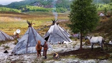 Dukha Halkı - Moğolistan - Sayı 236