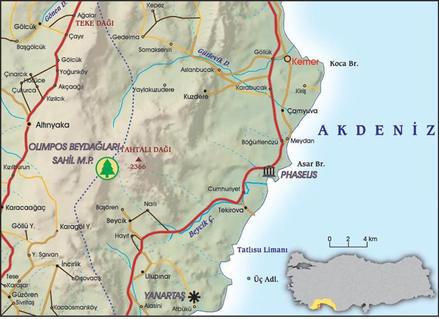 Kemer, Akdeniz Efsanesi - Atlas Tatil Sayı 2014