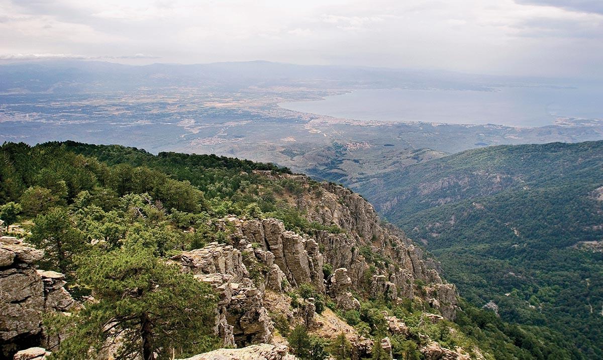 Kaz Dağları'nda Kamp