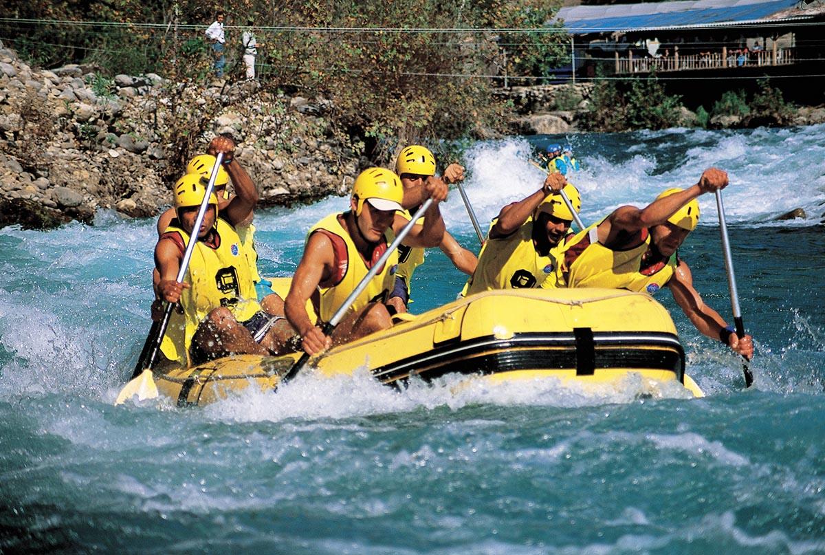Köprülü Kanyon'da Rafting