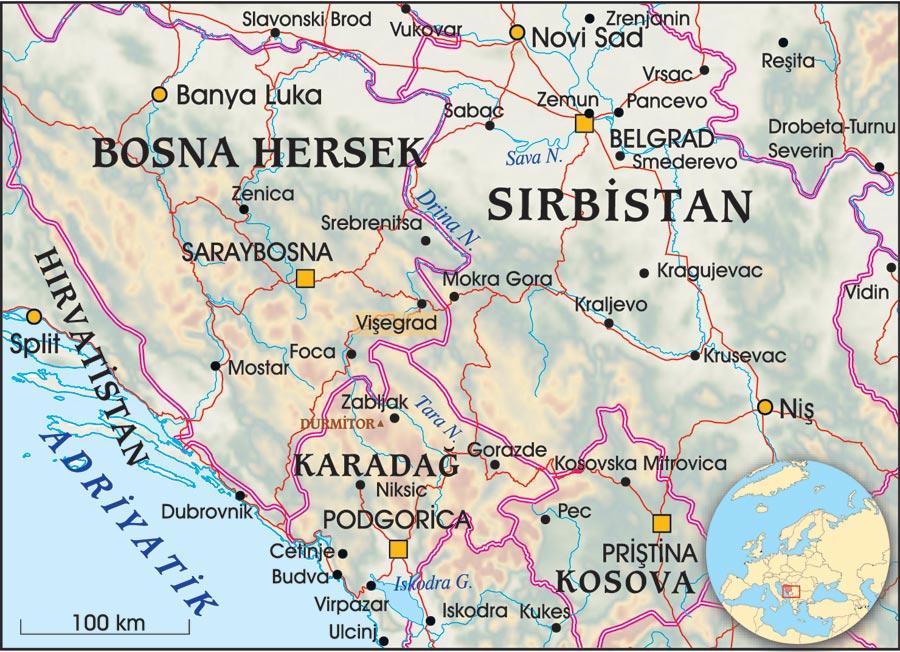 Vişegrad / Bosna Hersek: Drina Köprüsü - Sayı 257