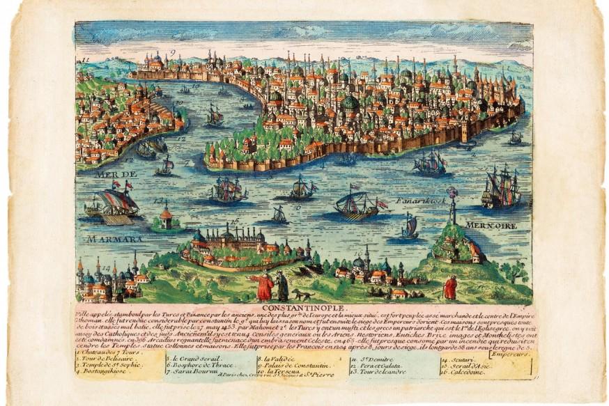 Bizans'tan İstanbul'a Renklerin Uyanışı