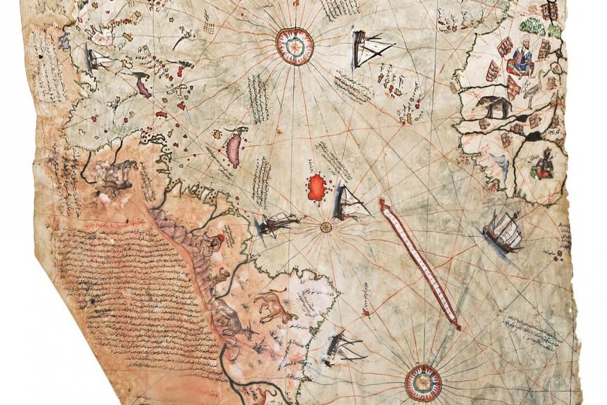 Piri Reis Ve Haritası