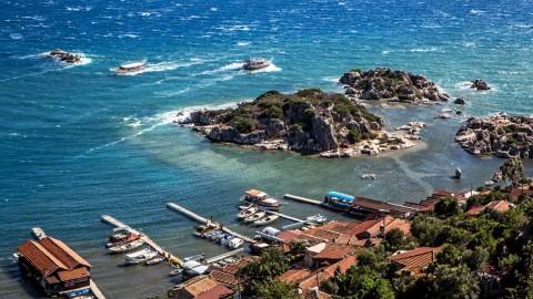Kemer'den Fethiye'ye Lykia Limanları
