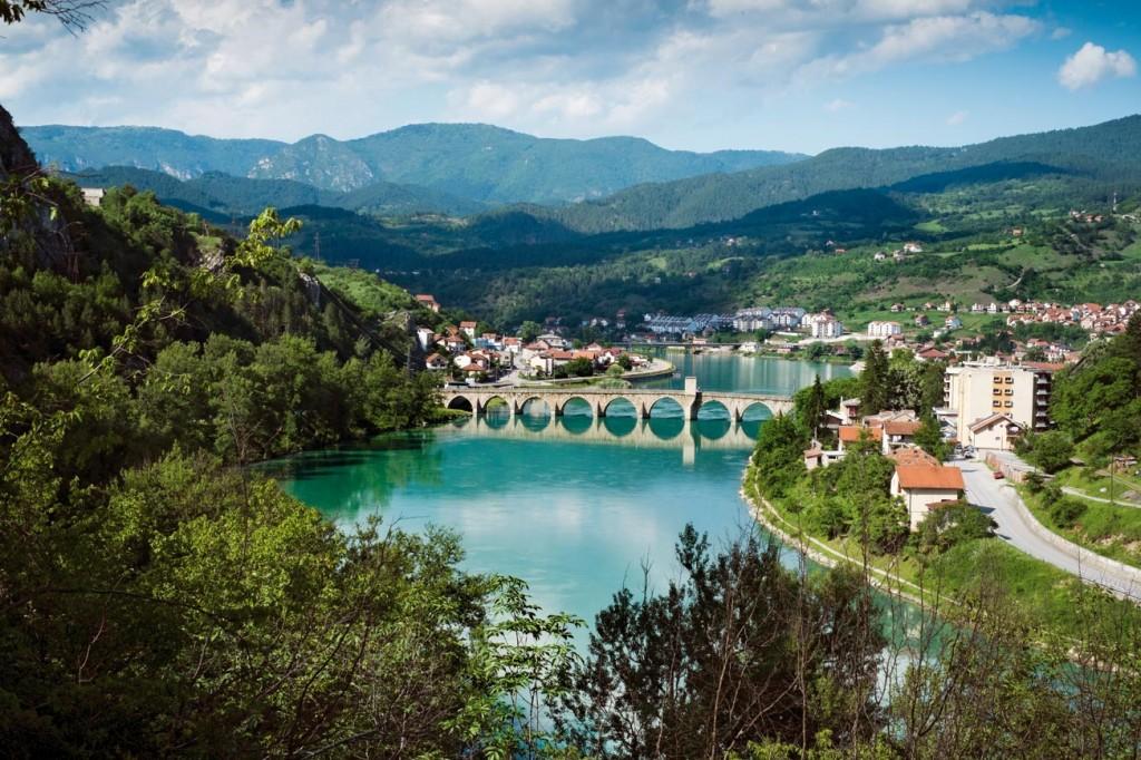 Vişegrad / Bosna Hersek: Drina Köprüsü