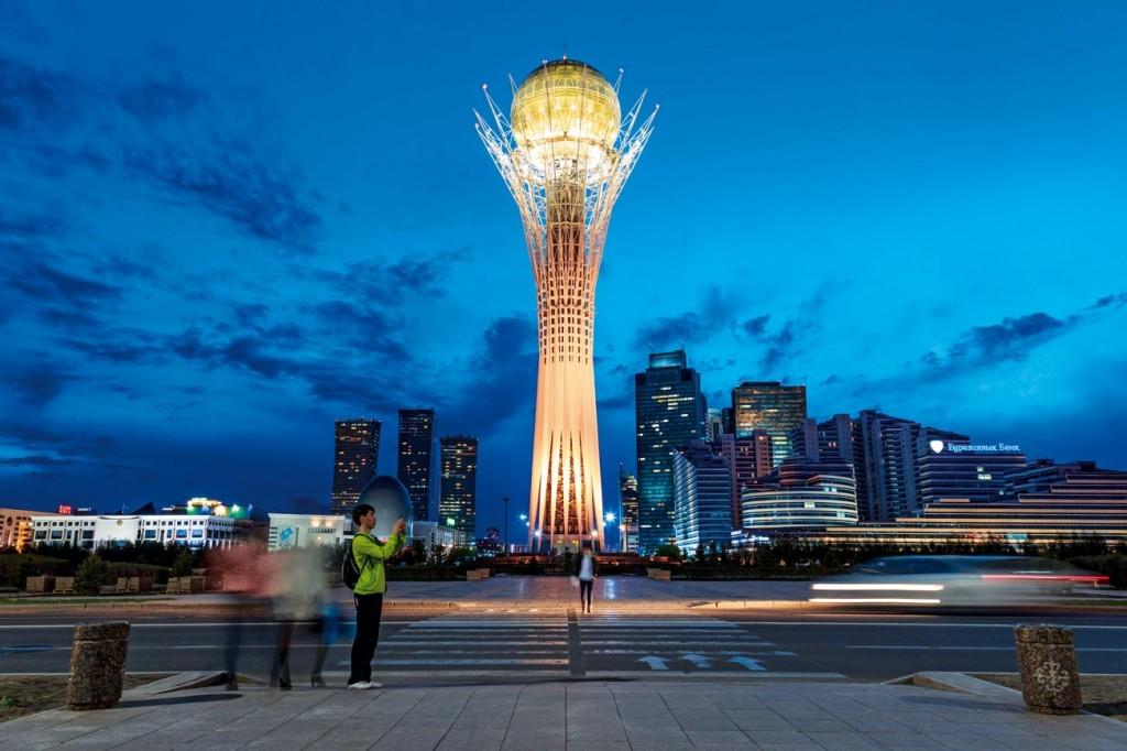 Kazakistan-Astana: Rüzgâr'ın başkenti