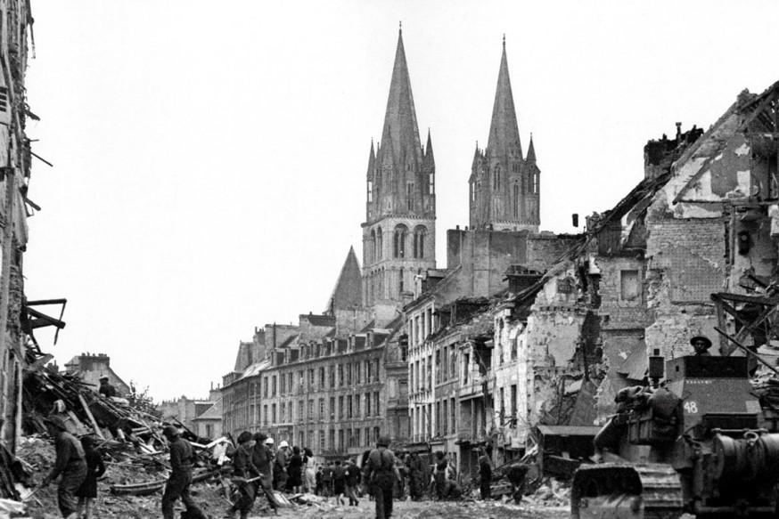 Caen Generaller şehri Atlas