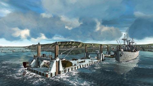 Normandiya çıkarması Tarihin 3 Boyutu Atlas