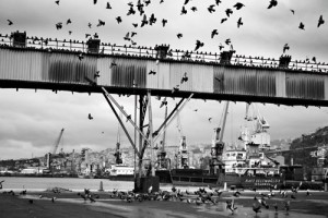 Hırçın Sığınak Tarihi İÖ 117-119 yıllarına kayıtlanan Trabzon Limanı, hırçın Karadeniz'in en önemli limanlarından biri. Doğu'nun zenginliğinin Batı'ya aktarıldığı önemli bir durak olarak biliniyor. Soçi, Poti ve Batum limanlarıyla hareketli bir ticaret trafiği var. Gürcistan'a beyaz eşya, otomobil gibi ticari eşyalar, Akdeniz bölgelerinden TIR'larla gelen meyve ve sebzeler de çoğunlukla Rusya'ya gidiyor. Az da olsa Azerbaycan ve İran'a gidecek yükler burada boşaltılıyor.