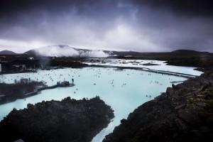 Mavi Kaplıca  İzlanda'nın güney batısında, geniş volkanik lav sahasında yer alıyor Mavi Lagün (Blue Lagoon). Sıcaklığı 38-40 derece olan suyun bazı cilt hastalıklarına iyi geldiği düşünülüyor.