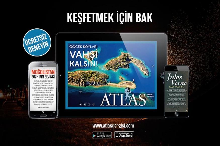 Atlas'ın iPhone ve iPad uygulaması 12 Sayı 23.99 TL