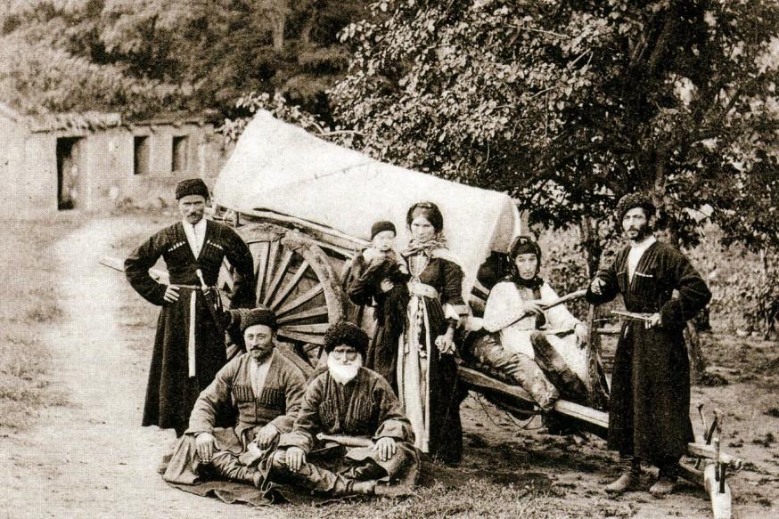 Kafkas Göçü, Sürgün Ve İskân