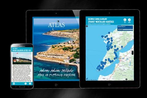 Gelibolu'nun İnteraktif Haritası Appstore ve GooglePlay'de