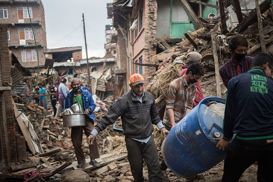 Nepal Depremi - Atlas