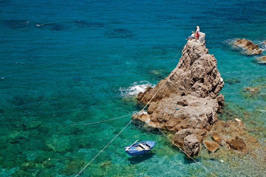 Urla Yarımadası, Mavi Sığınak