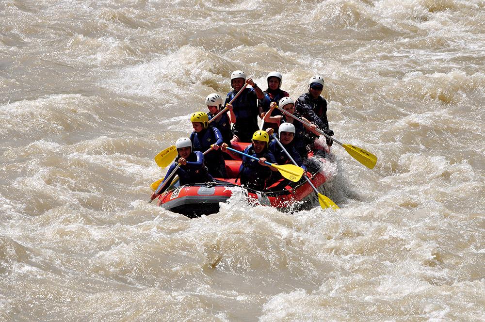 Melen'de Rafting
