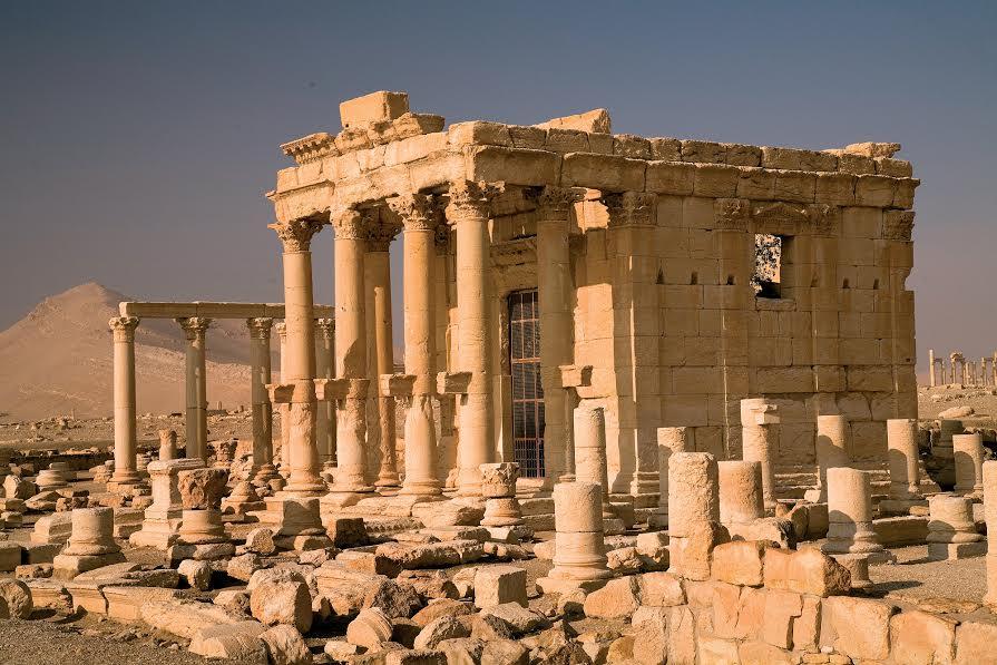 Antik Palmyra'da Patlama