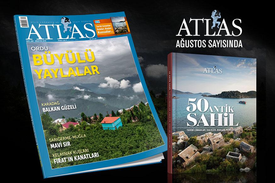 Atlas'ın hediyesi: 50 Antik Sahil