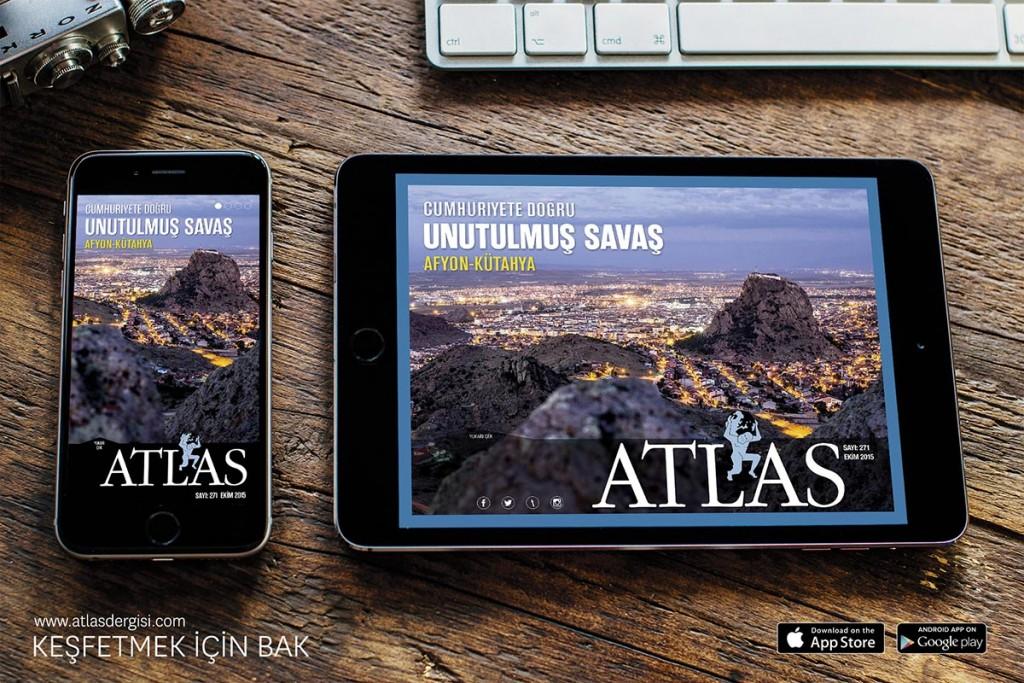 Mobil Uygulama Hediye; Her An Her Yerde Atlas