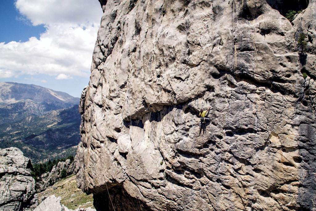 Kapıkaya / Isparta; Antik Tırmanış