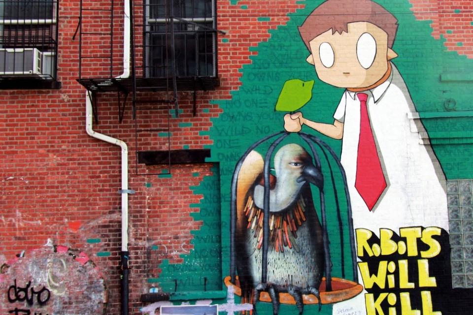 Duvardan Duvara; New York
