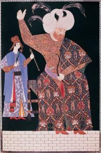 Nigari 'nin yaptığı Kanuni Sultan Süleyman minyatürü | Atlas |
