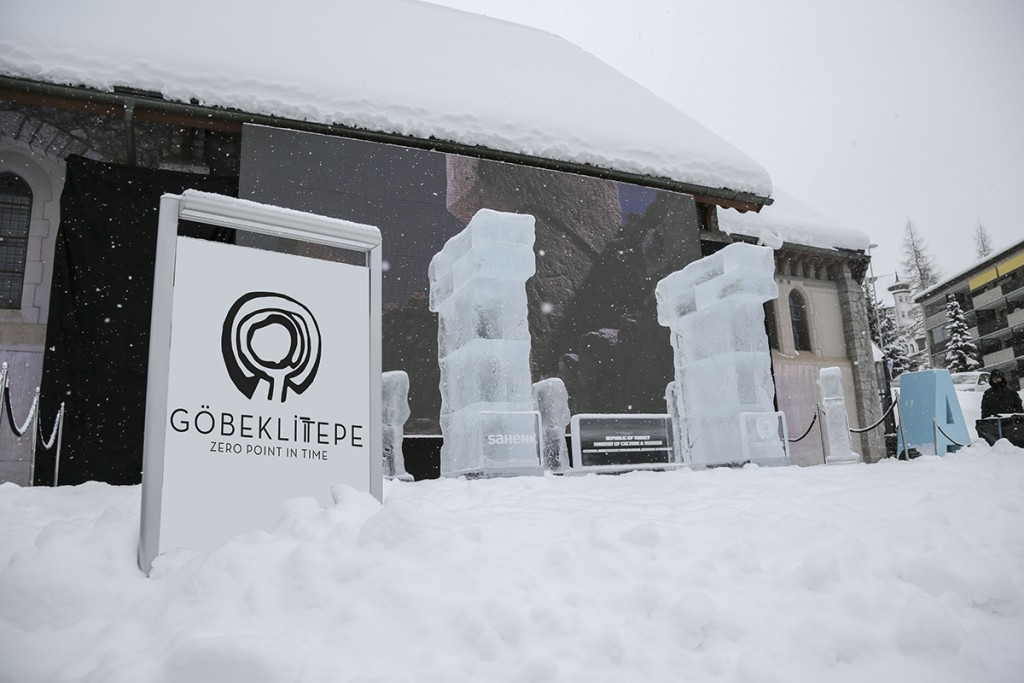 Göbeklitepe Davos'ta