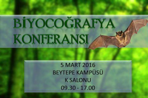 Hacettepe Üniversitesi'nde Biyocoğrafya Konferansı