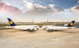 Lufthanseat Nr. 1512 vom 11. April 2014, 747-8 und A380 | Atlas |