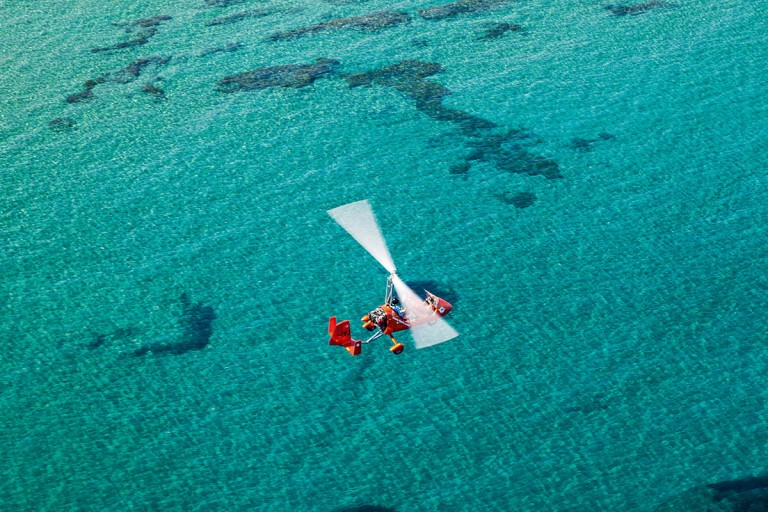 Anadolu'dan Kıbrıs'a; Gyrocopter ile Seyahat