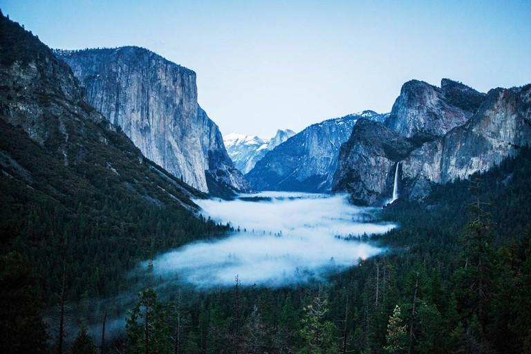 Yosemite Milli Parkı / ABD; Devlerin Vadisi