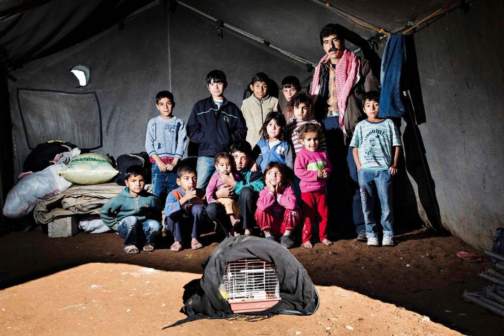 Kerem Yücel'in Gözünden; Savaşın Sürgünleri
