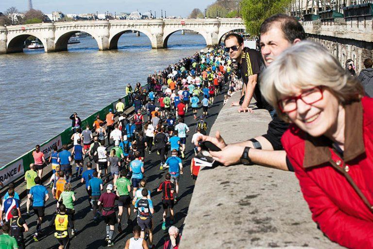 Fransa; Paris'te Koşmak