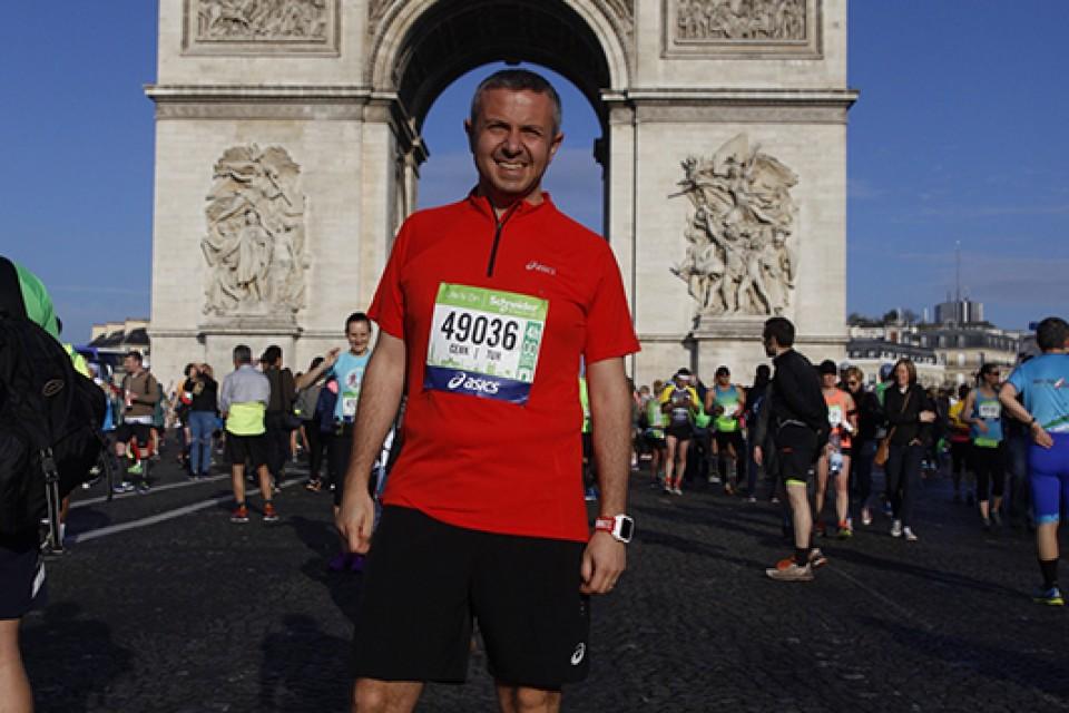 Atlas Paris Maratonu'ndaydı
