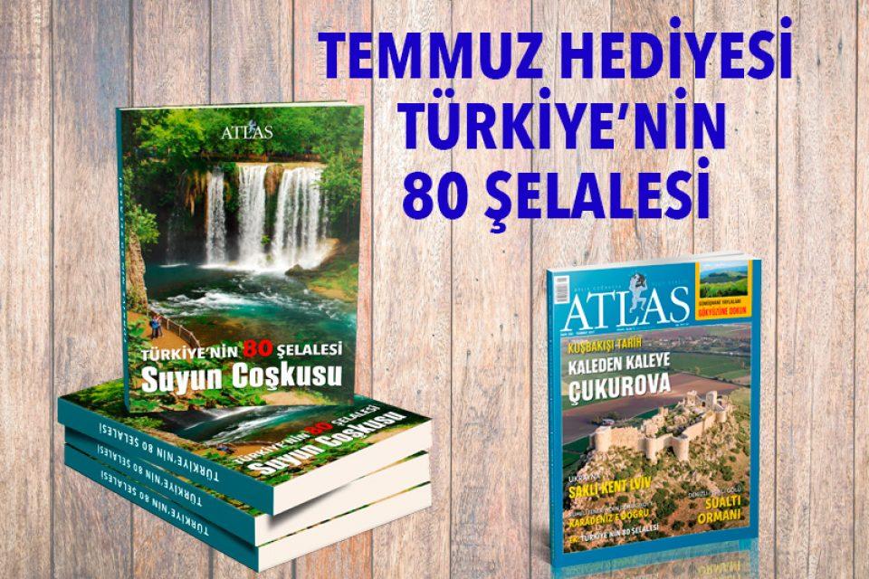 TEMMUZ HEDİYESİ: TÜRKİYE'NİN 80 ŞELALESİ