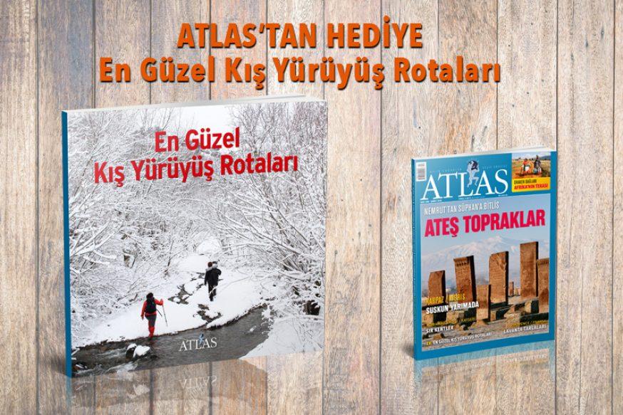 ATLAS'TAN HEDİYE: En Güzel Kış Yürüyüş Rotaları