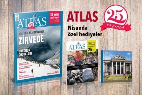 ATLAS 25 YAŞINDA: Nisanda özel hediyeler