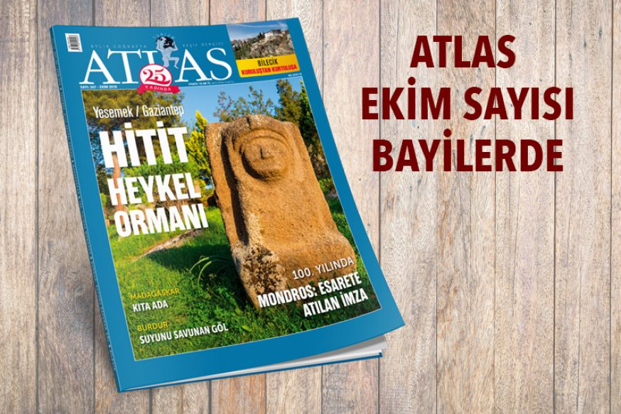 Atlas'ın Ekim Sayısı Bayilerde