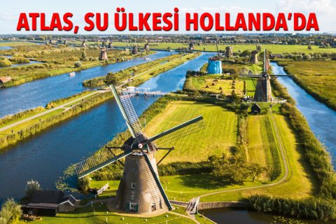 ATLAS, SU ÜLKESİ HOLLANDA'DA