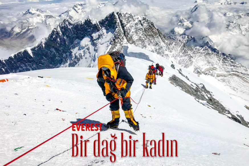 EVEREST Bir dağ bir kadın