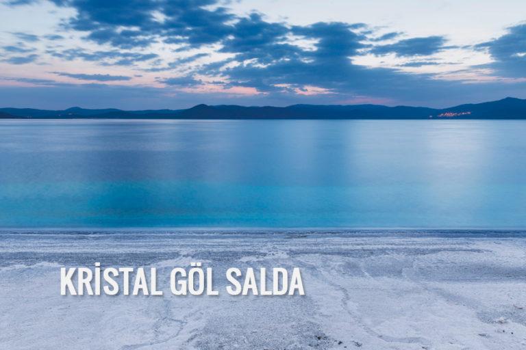 Kristal göl Salda