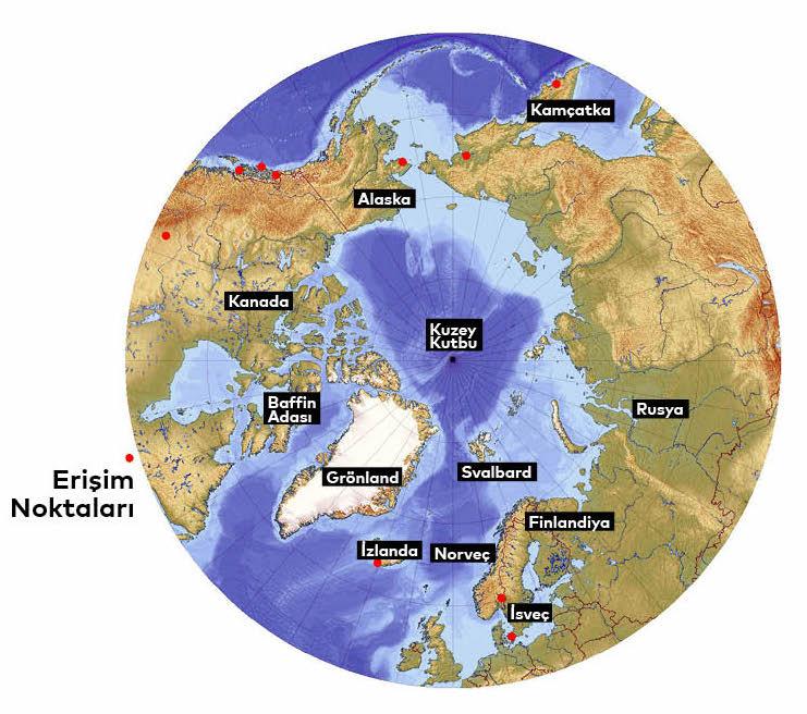 Gezegenimizin Uç Noktaları: Kutuplar | Atlas | Bilim