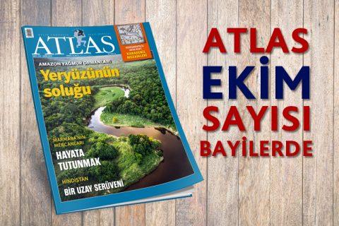 ATLAS EKİM SAYISI BAYİLERDE
