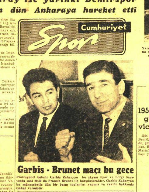 Ringlerin altın kalpli eldiveni Garbis Zakaryan | Atlas | Panorama
