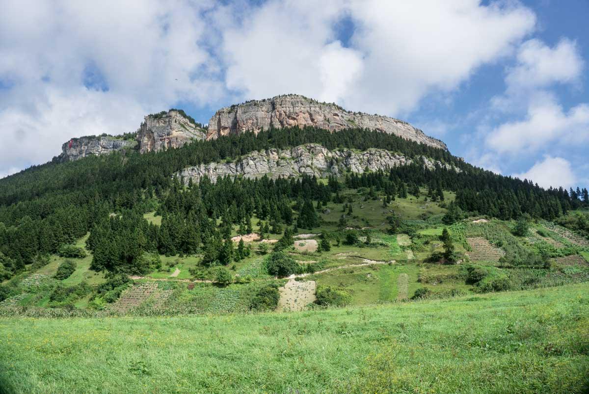 Trabzon Şahinkaya'da gökyüzüne tırmanış | Atlas | Gezi