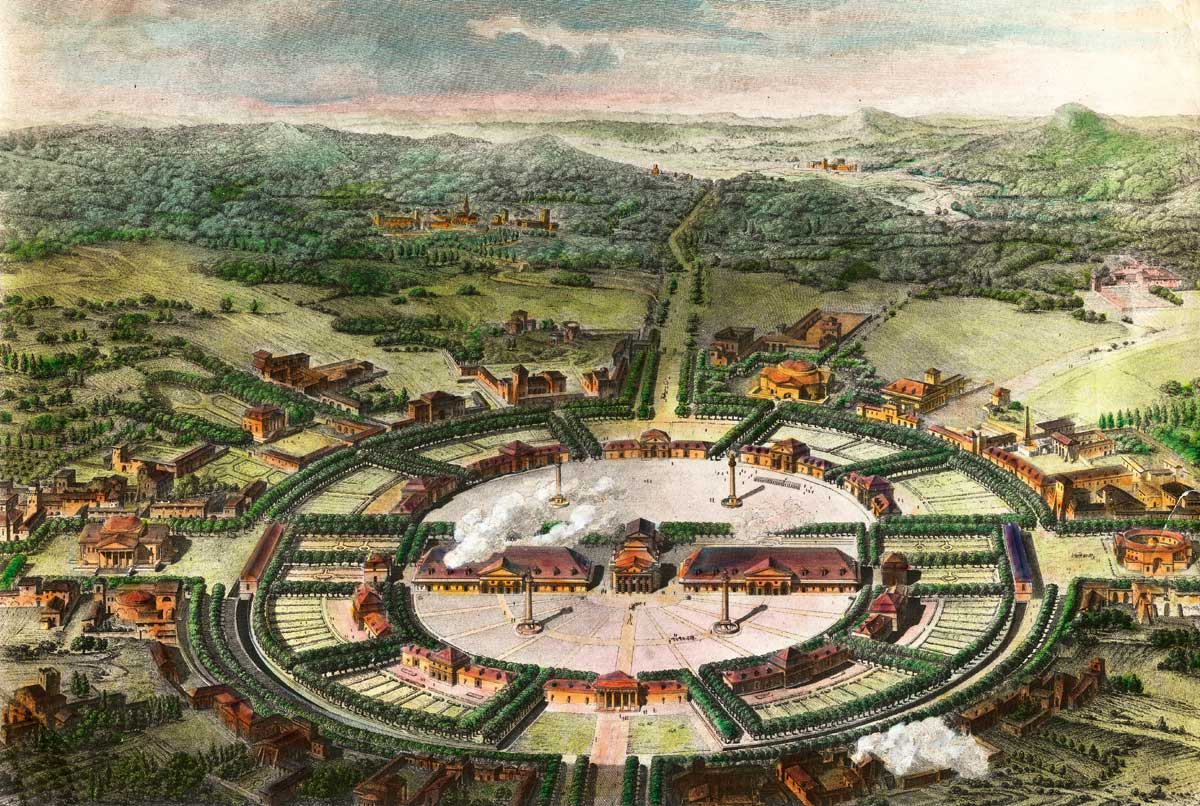 Devrimin tuzu: Arc-et Senans | Atlas | tarihte tuz