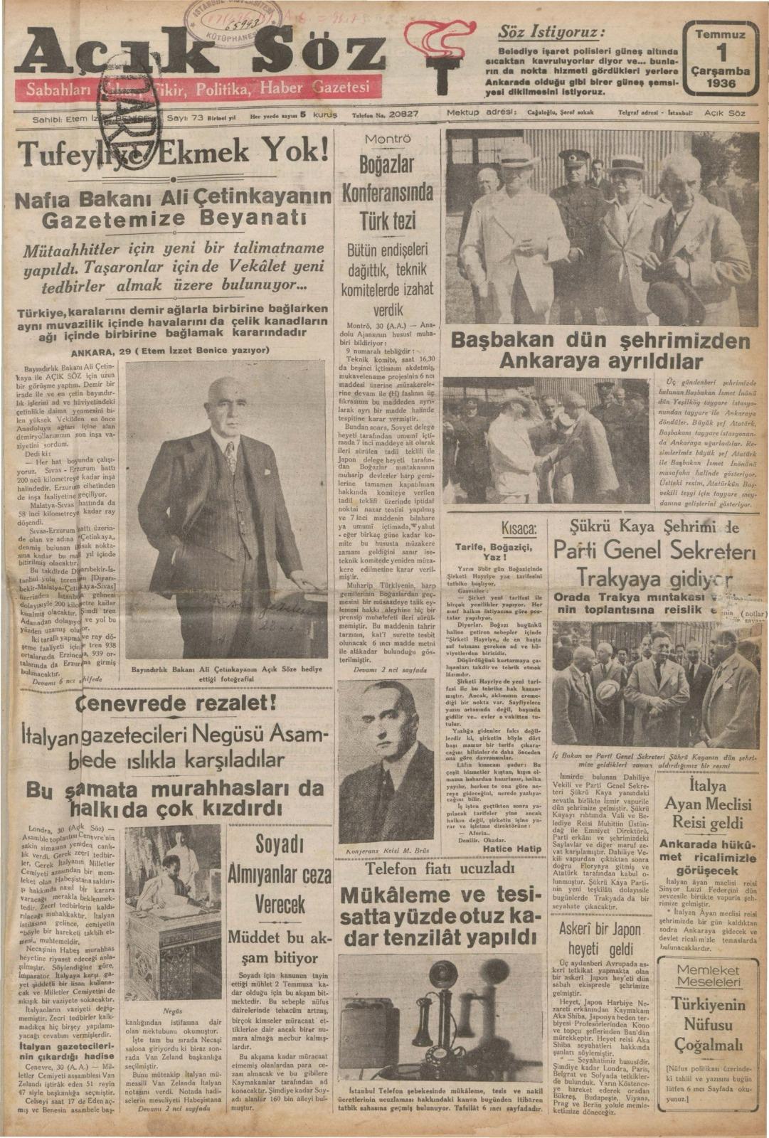 Tarihe ışık tutan arşiv: 1928-1942 yıllarından 18422 cilt gazete paylaşıma açıldı   Atlas   Gündem