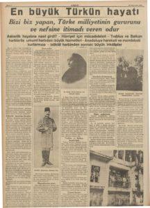 Akşam-10-Kasım-1938-2   Atlas  