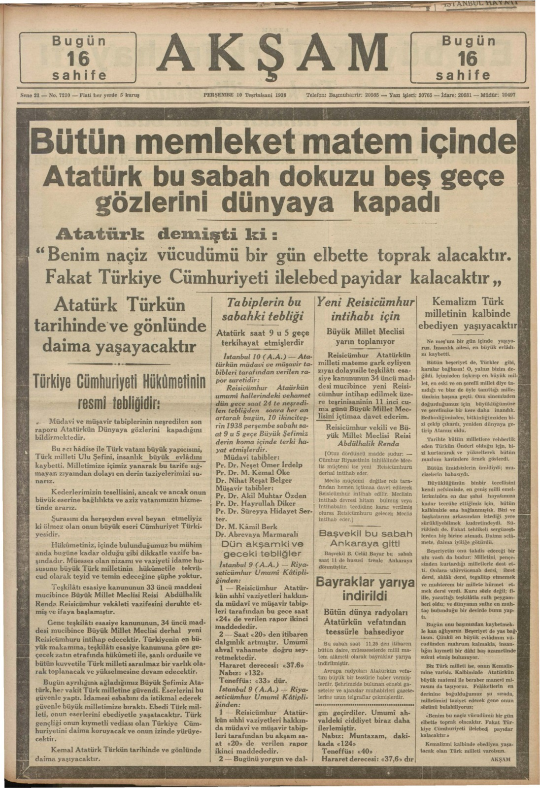 Tarihe ışık tutan arşiv: 1928-1942 yıllarından 18422 cilt gazete paylaşıma açıldı | Atlas | Gündem
