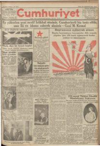Cumhuriyet-29-Ekim-1929 | Atlas |